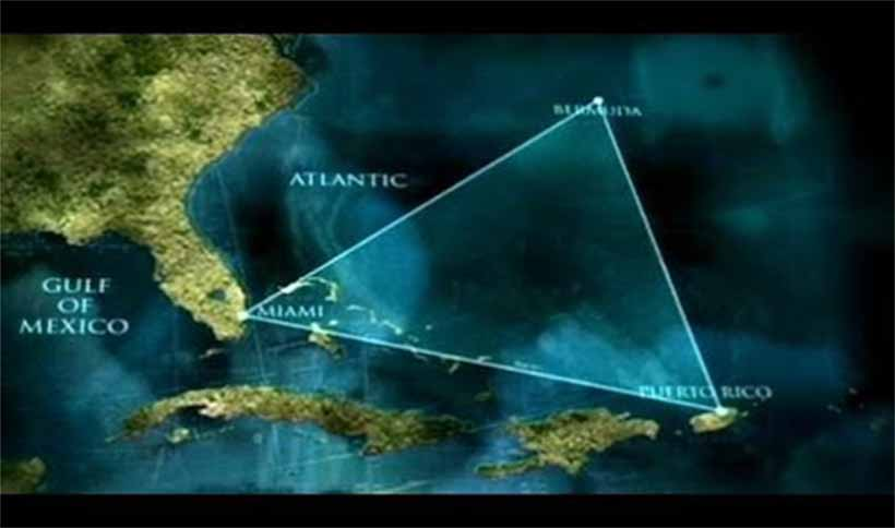 Le triangle des Bermudes ou le triangle maudit