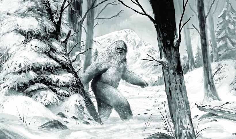 Yeti - Abominable Homme Des Neiges